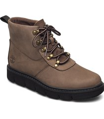 raywood alpine hiker shoes boots ankle boots ankle boot - flat brun timberland