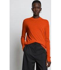 proenza schouler eco superfine merino sweater orange l