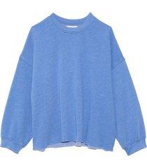 honor sweatshirt in blue harbor