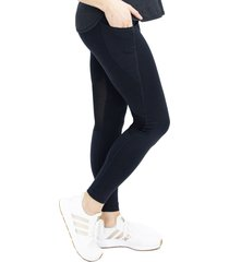 angel maternity maternity sports leggings, size xx-large in black at nordstrom