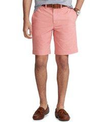 polo ralph lauren men's big & tall stretch classic-fit twill shorts