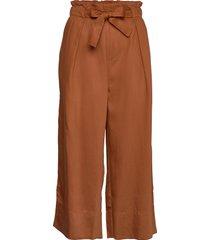 quiiw culotte pant wijde broek bruin inwear