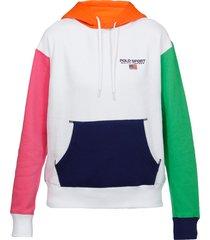 ralph lauren color block hoodie