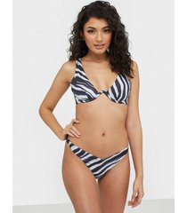 hunkemöller zebra highleg bikini bottom trosa