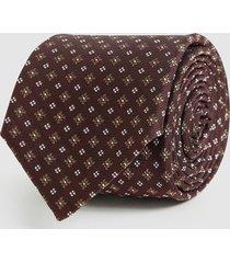 reiss lefty - silk blend tie in bordeaux, mens