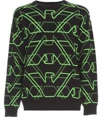 emporio armani fluo color sweater