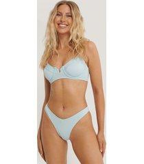 danaë x na-kd v-formad bikiniunderdel - blue
