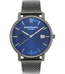 reloj gris kenneth cole new york