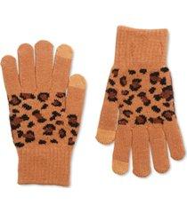 steve madden leopard magic gloves