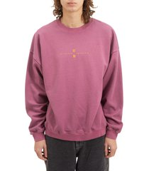 bdg urban outfitters distant worlds graphic sweatshirt, size x-large in magenta at nordstrom