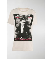 acne studios photographic print t-shirt