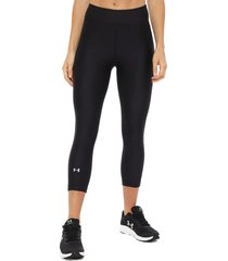 calza under armour ua hg armour capri negro - calce ajustado