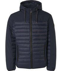 no excess jacket short fit hooded padded night