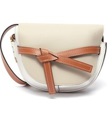'gate' knotted belt small leather bag