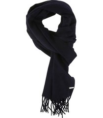 loro piana frayed edge scarf