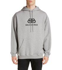 men's balenciaga logo hoodie