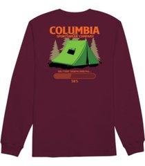 columbia men's solitude long sleeve t-shirt