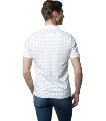 koszulka polo bike biały