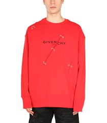 givenchy crew neck sweatshirt