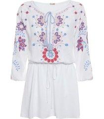 túnica margheirta curta batiche - branco