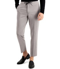 bar iii men's slim-fit drawstring dress pants, created for macy's