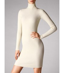 vestiti merino rib dress - 8596 - s