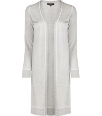 rag & bone knitted long sleeve cardigan - grey