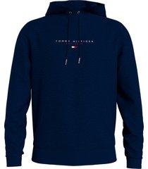tommy hilfiger hoodie essential tommy hood mw0mw17382/dw5