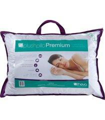 travesseiro plushpillo premium queen 50 x 70 cm theva copespuma