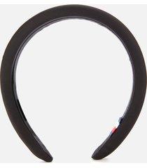 tommy hilfiger women's signature headband - black