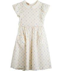 gucci gg polka dot cotton dress