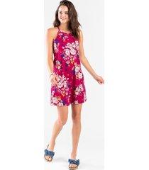 kaylee knit floral dress - burgundy