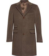 wesley wool cashmere coat yllerock rock brun morris