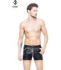 * code8 by xxx collection heren short met mesh - zilver