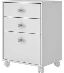 gaveteiro com 3 gav. bho 29-06 branco brv móveis - tricae