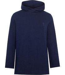 bluza navy hood