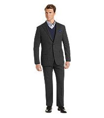 1905 collection slim fit glen plaid men's suit with brrr°® comfort - big & tall by jos. a. bank