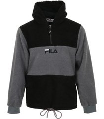 fleece jack fila bruno 1/2 zip sherpa