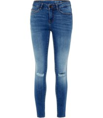 mid-rise jeans ankle