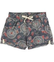 short mujer wb joy shorts domo print lila burton