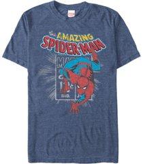 marvel men's comic collection the amazing spider-man short sleeve t-shirt