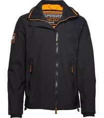 hooded arctic pop zip sd-windcheater dun jack blauw superdry