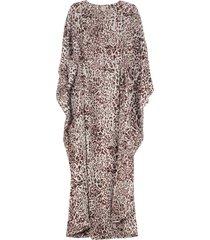 pinko printed kaftan dress
