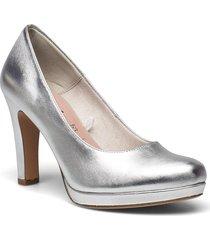 woms court shoe - moffen shoes heels pumps classic silver tamaris