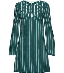 amelia korte jurk groen dagmar