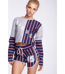 bluza oldschool stripes