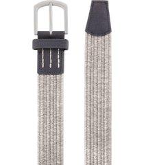 men's cuater by travismathew belt, size small - heather grey