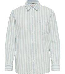 the ultimate bf shirt annette overhemd met lange mouwen blauw levi´s women