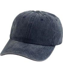 gorra azul bohemia gabardina gastada