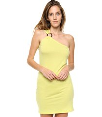 vestido amarillo destino collection